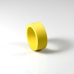 "1"" mini flipper rubber Yellow"