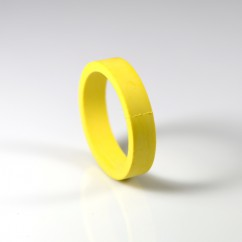 "3/8"" Flipper Rubber - YELLOW"