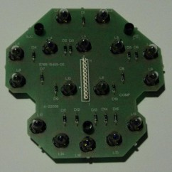 16 lamp pcb assembly
