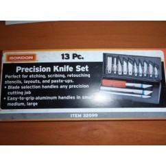 KNIFE SET - PRECISION 13 PC