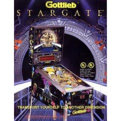Stargate (Gottlieb) Black Rubber Kit