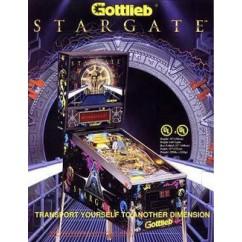 Stargate (Gottlieb) Translucent Rubber Kit