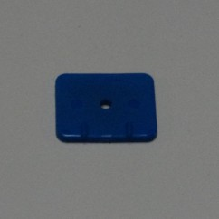 Target face - rectangle Blue