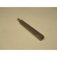 post mf 8-32 x 2.00 zinc 1/4 hex