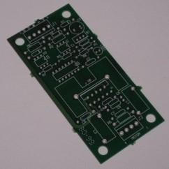 pcb motor control board blank
