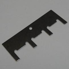 Reset plate bracket - 4 bank