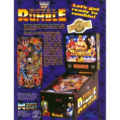 WWF Royal Rumble  rubber kit - white