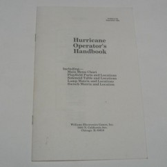 Hurricane manual handbook