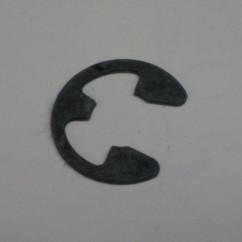 E-clip 3/8 shaft ball shooter