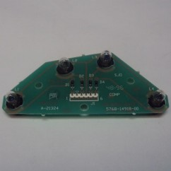 4 lamp pcb assembly NO LAMP