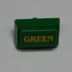 Button Hot stamp GREEN 31-1567-4