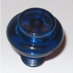 cabinet flipper button transparent dark blue