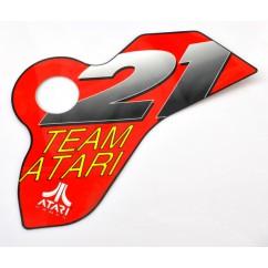 21 Team atari decal