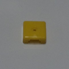 Target face - 3D square yellow