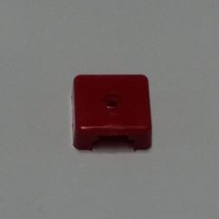 Target face - 3D square target red