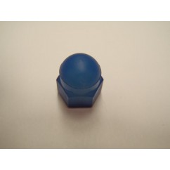 6-32 Acorn Nut, Natural Nylon blue