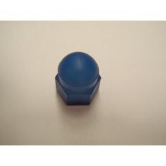 6-32 Acorn Nut, Natural Nylon blue
