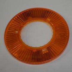 pop bumper collar orange