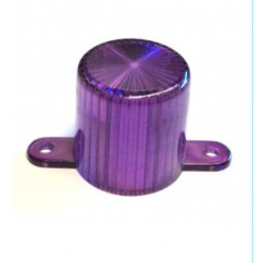 Plastic Light Dome (Screw Tab) - Purple