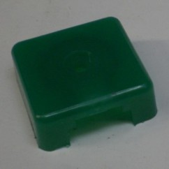Target face - 3D square trl green