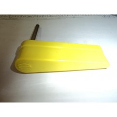 SEGA flipper bat with sega saturn logo yellow
