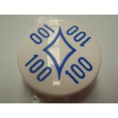 Gottlieb A-13859B 100 Diamond BLUE bumper cap