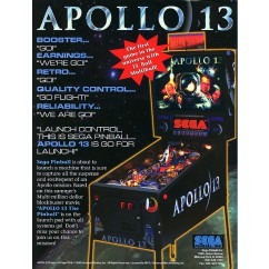 Apollo 13  rubber kit - black