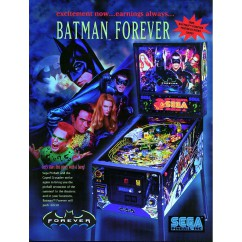 BATMAN FOREVER SEGA  RUBBER KIT IN BLACK