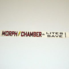 "CAPCOM PINBALL MAGIC "" MORPH CHAMBER "" DECAL"
