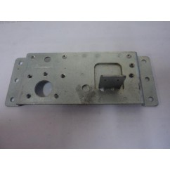 Left side flipper mounting plate for Gottlieb pinball machine flipper units.