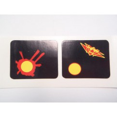 Firepower spinner decal