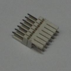 7 pin connector .100 z header mass term lock t