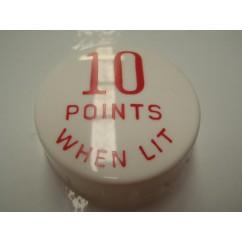 GOTTLIEB 10 Points When Lit RED POP BUMPER CAP A10998R