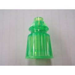 Post 1-1/16 green fluorescent