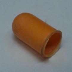 Large light sleeve light amber / peach color