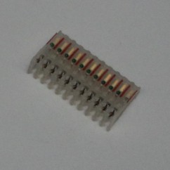 11 R CONNECTOR IDC mt/thru  22/.100