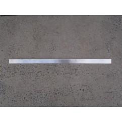 rail playfield side pin 2000 01-15201.1 silver  (single)