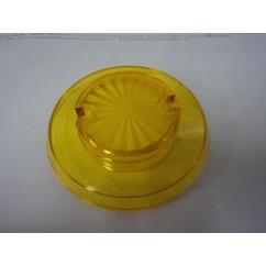 Pop bumper cap starburst yellow