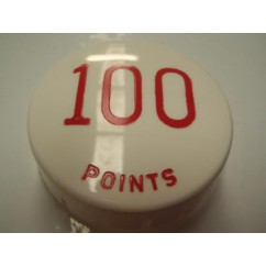 Gottlieb 100 Points RED POP BUMPER CAP