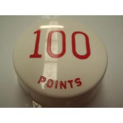 Gottlieb 100 Points RED POP BUMPER CAP
