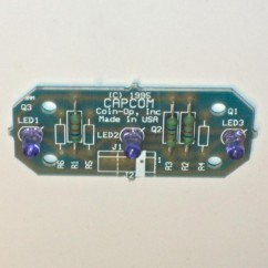 CAPCOM ASSEMBLY PCB OPTO TRI XMTR