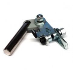 Plunger link & crank (pawl) assy - left