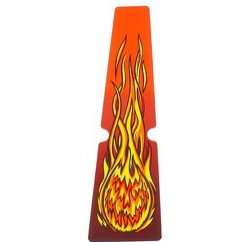 Scared Stiff Fireball Ramp Decal