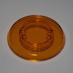 Pop bumper cap - orange