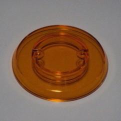 pop bumper cap - orange