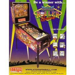 High Roller Casino rubber kit - black