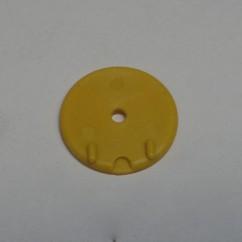 Target Round - yellow