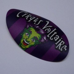 Cirqus Voltaire Playfield decal