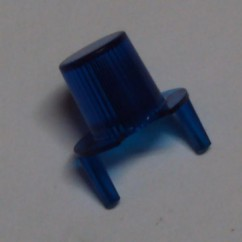dome jet bumper transparent blue