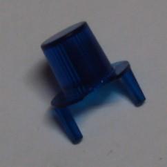 dome jet bumper transparent blue